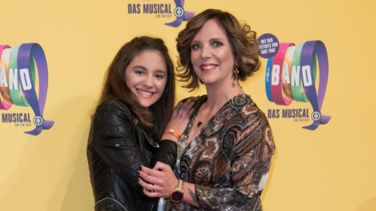Daniela Büchner mit Tochter