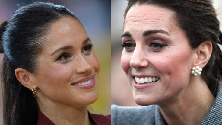 Meghan Markle und Kate Middleton dominierten auch in dieser Woche die Royal-News. (Foto)