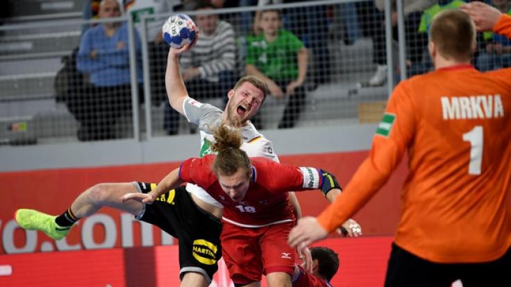 Deutschland trifft in der Hauptrunde der Handball-EM 2018 auf Dänemark. (Foto)