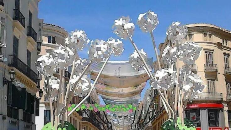 Die Feria in Málaga ist ein bekanntes Volksfest.