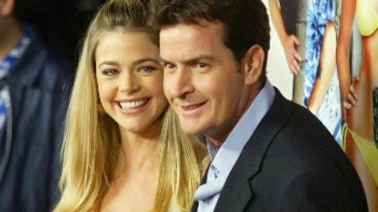 Sheen und Richards in glücklicheren Zeiten. (Foto)