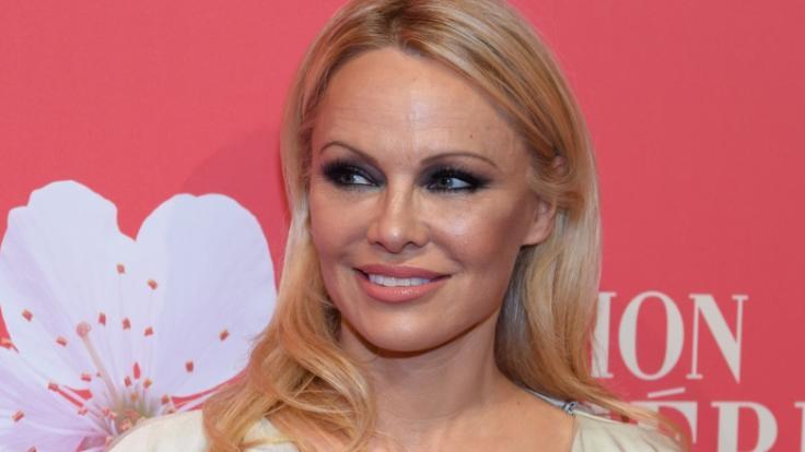Pamela Anderson verzückt ihre Fans im Netz einmal mehr. (Foto)