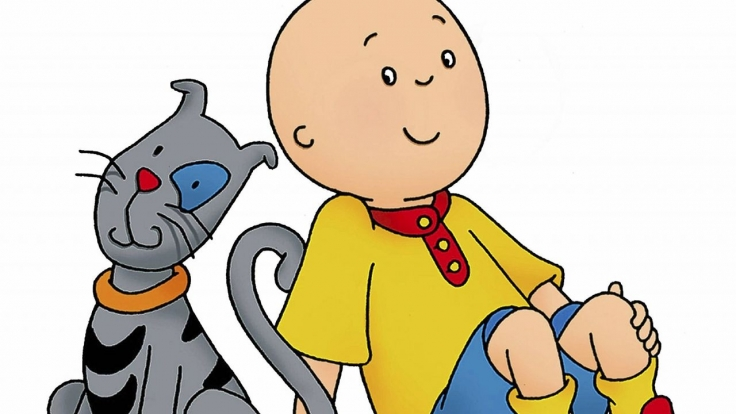 Caillou bei Super RTL
