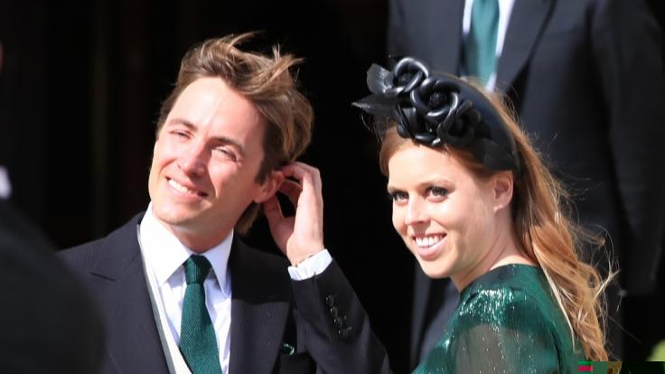 Prinzessin Beatrice und Edoardo Mapelli Mozzi sind seit Juli 2020 verheiratet. (Foto)
