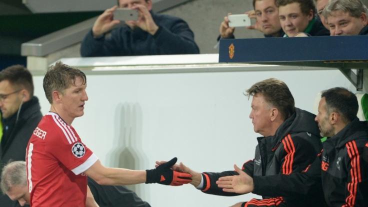 Auch Weltmeister Bastian Schweinsteiger konnte das Ausscheiden nicht verhindern.