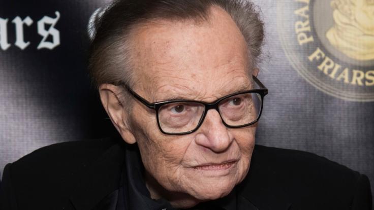 US-Talkmaster Larry King ist im Alter von 87 Jahren gestorben. (Foto)