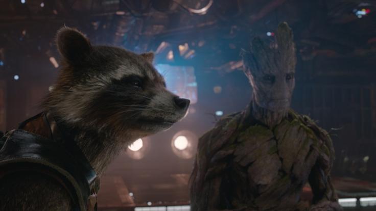 Die beiden Stars des Films: Rocket und Groot. (Foto)