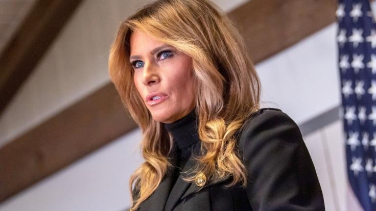 Wie es um die Ehe von Melania und Donald Trump bestellt ist, sieht man der Ex-Frist Lady schon an der Nasenspitze an, meinen Beziehungsexperten. (Foto)