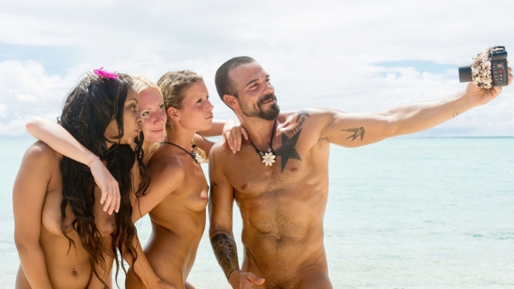 "Bahati, Beatrix, Jeannina und Gaetano bei ""Adam sucht Eva"". (Foto)"
