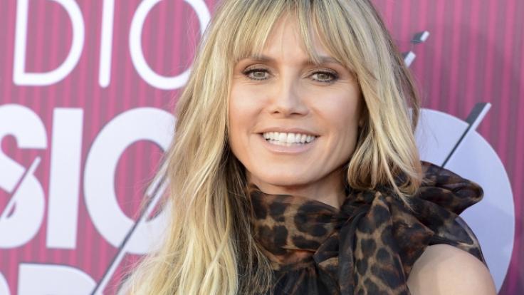 Heidi Klum wird in diesem Jahr heiraten. (Foto)