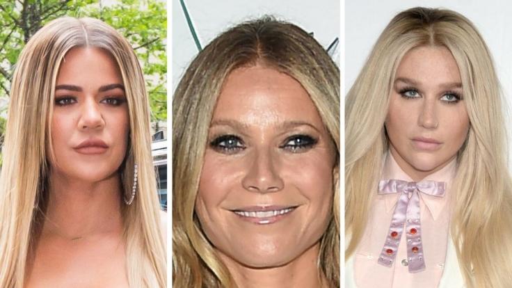 Das war nicht die beste Woche für die Promi-Blondinen Khloe Kardashian, Gwyneth Paltrow und Kesha.