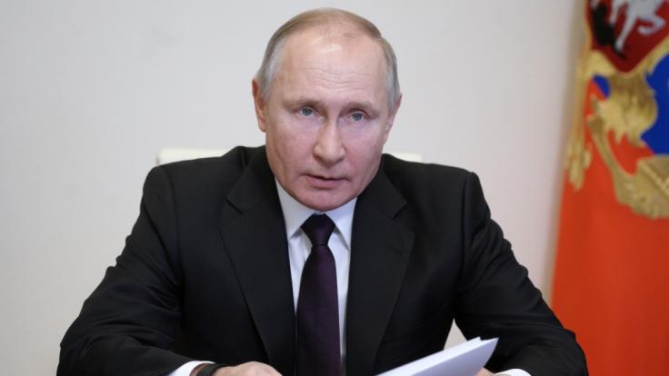 Schwedische Experten sind sich sicher: Putin würde als Sieger aus einem Dritten Weltkrieg hervorgehen. (Foto)