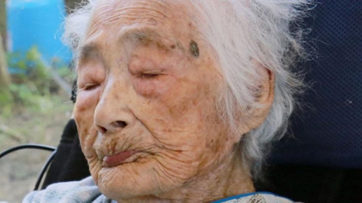 Nabi Tajimaist galt als ältester Mensch der Welt. (Foto)