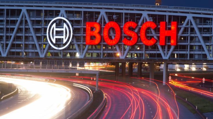 Bosch baut an zwei Standorten Stellen ab. (Foto)