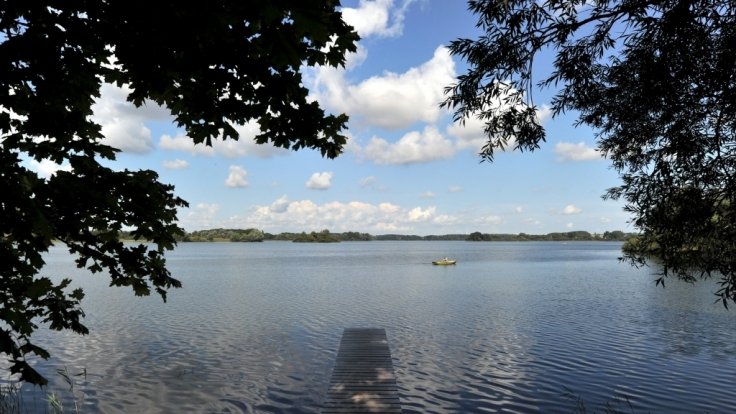 Großer Plöner See in Schleswig-Holstein. (Foto)