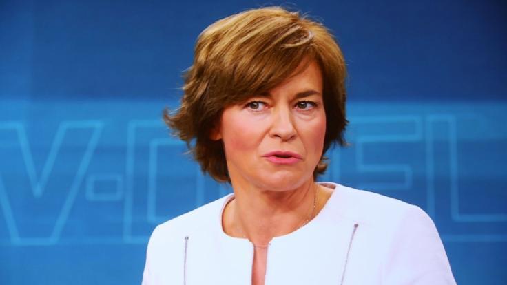 Maybrit Illner diskutiert am 26. September in ihrer ZDF-Spezialsendung über die Ergebnisse der Bundestagswahl. (Foto)