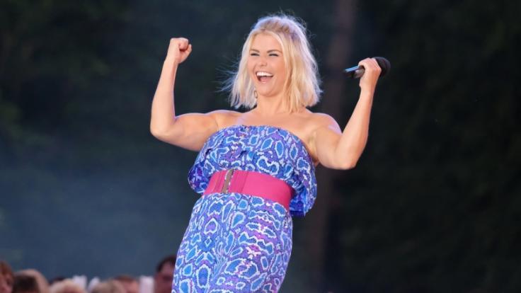 Beatrice Egli freut sich schon auf ihr Rügen-Konzert. (Foto)