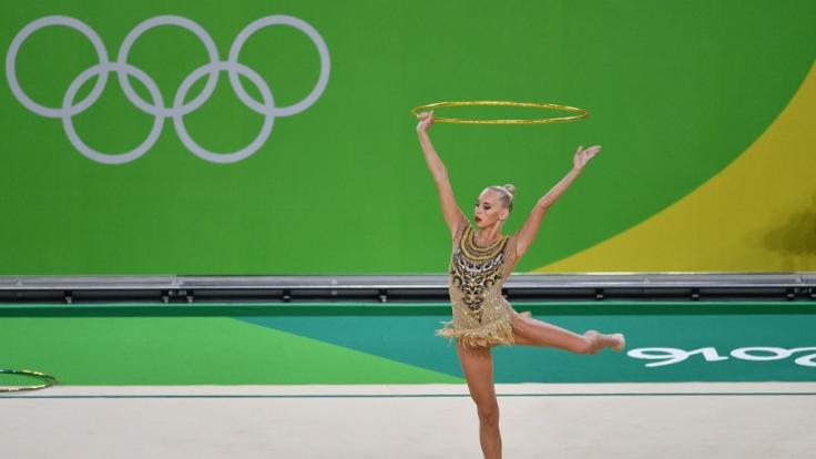 Top-Favoritin Jana Kudrjawzewa erreichte überraschend nur den dritten Platz. (Foto)