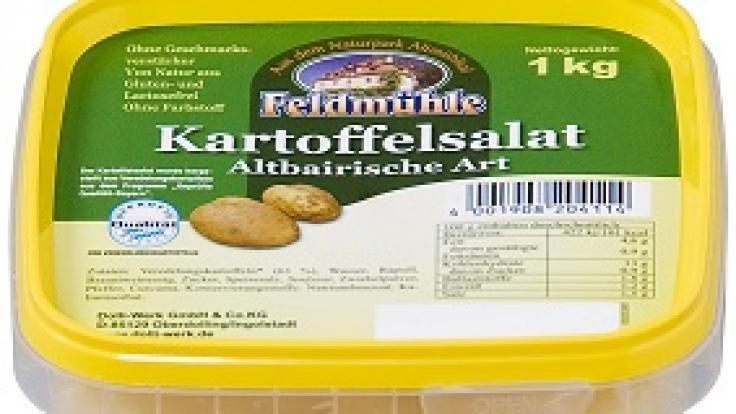 Rückruf bei Edeka: Fremdkörper im Feldmühle Kartoffelsalat