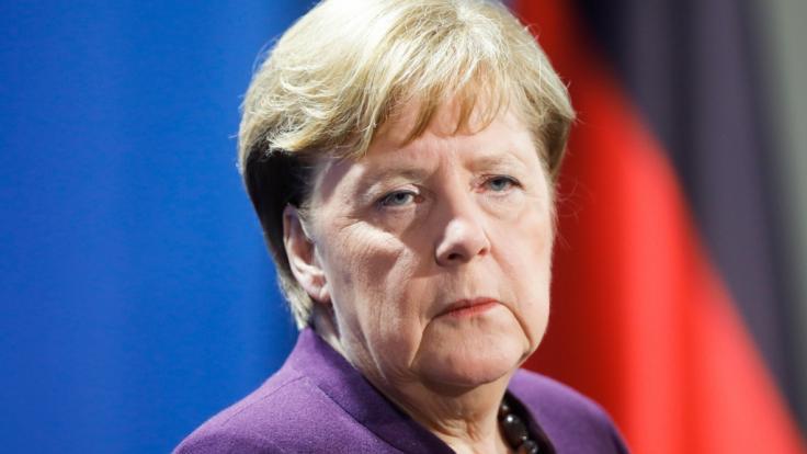 Angela Merkel setzt offenbar auf eine Obergrenze der Corona-Neu-Infektionen. (Foto)