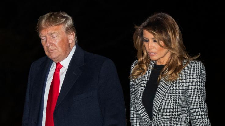 Wie geht es für Donald und Melania Trump weiter? (Foto)