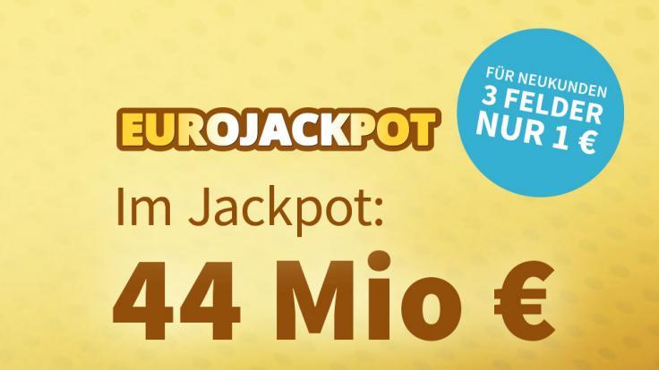 Am Freitag, 23.07.2021, liegen 44 Millionen Euro im Jackpot bei Eurolotto (Foto)