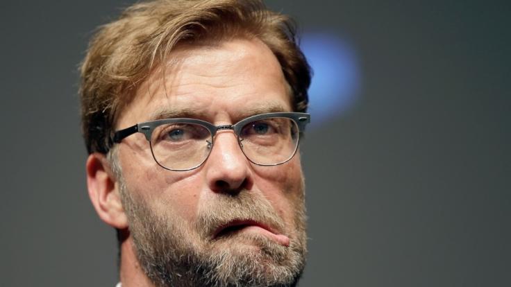 Jürgen Klopp ist nicht immer Herr seiner Gesichtszüge. (Foto)