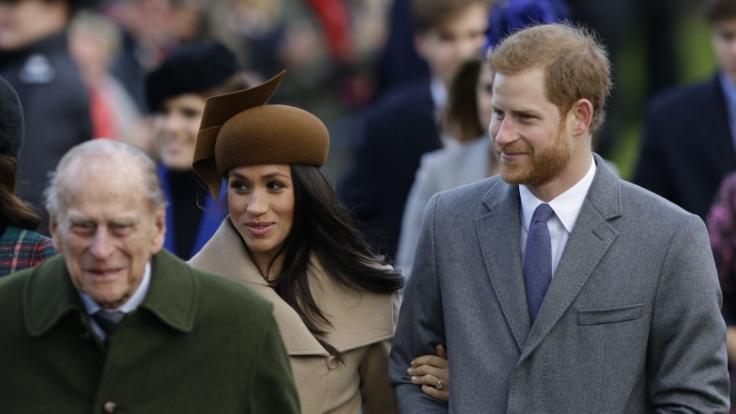 Meghan Markle und Prinz Harry halten an ihrem Interview fest, auch wenn es Prinz Philip schlechter gehen sollte. (Foto)
