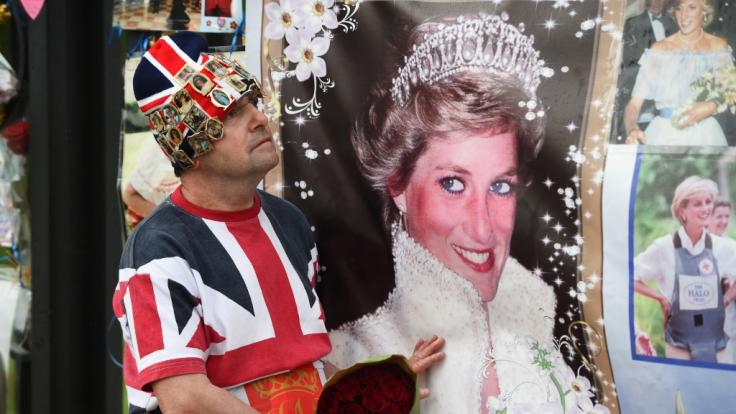Prinzessin Diana starb 1997 bei einem Autounfall.