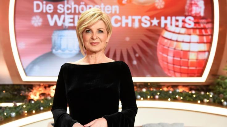"""Carmen Nebel lädt mit etlichen Promi-Gästen zur Benefizgala """"Die schönsten Weihnachts-Hits"""" im ZDF. (Foto)"""