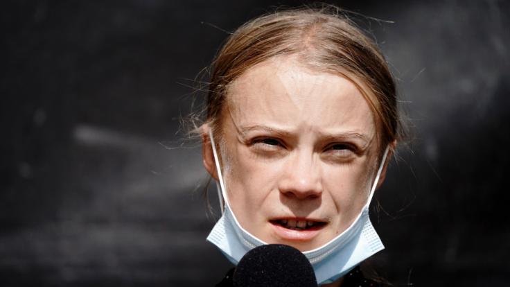 Greta Thunberg hat Joe Biden verspottet. (Foto)