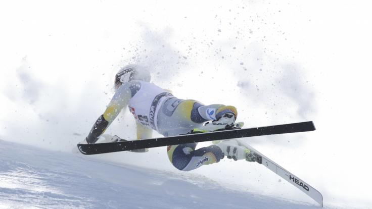 Die NorwegerinKajsa Vickhoff Lie ist beim Super G in Val di Fassa schwer gestürzt. (Foto)
