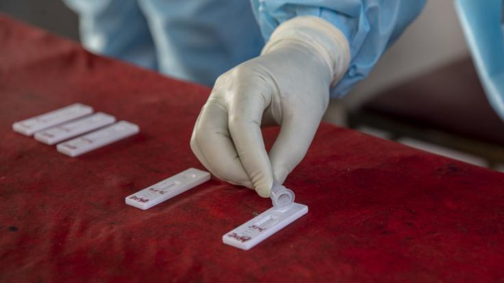 Am 31. März 2021 meldete das Robert-Koch-Institut mehr als 17.000 Coronavirus-Neuinfektionen binnen 24 Stunden. (Foto)