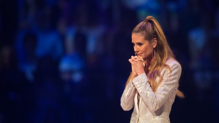 "Heidi Klum im Finale von ""Germanys Next Topmodel"" 2017. (Foto)"