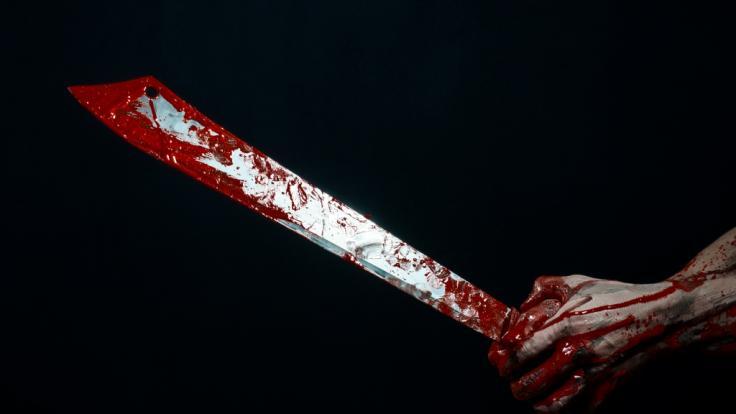 In England wurde ein Familienvater mit einer Machete getötet. (Symbolbild) (Foto)