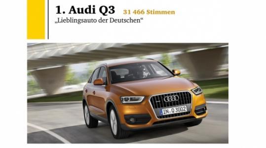 Lieblingsauto der Deutschen (Foto)