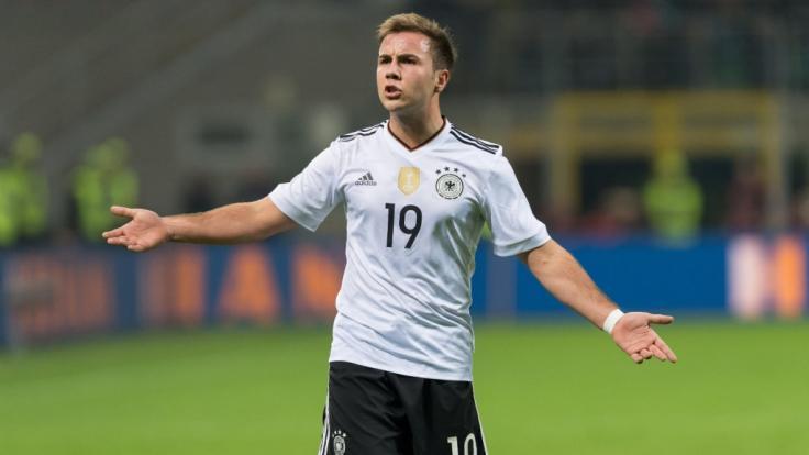 Mario Götze will zur Fußball-EM 2020 wieder angreifen.