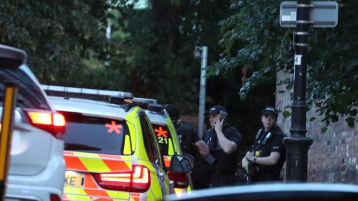 In Reading hat ein Mann nach einer Anti-Rassismus-Demo drei Menschen erstochen. (Foto)