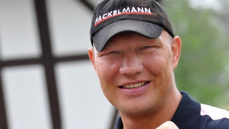 Ex-Boxer Axel Schulz, der im November 2006 einen Schlaganfall erlitt, will anderen Patienten Mut machen. (Foto)