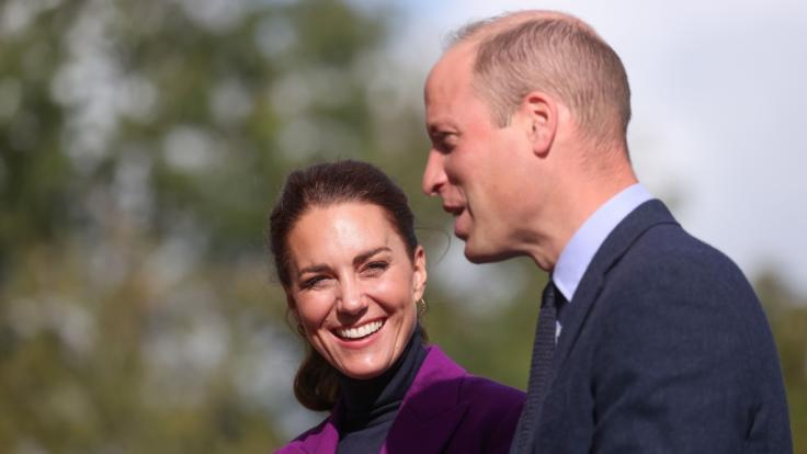 Prinz William, Herzog von Cambridge und Kate, Herzogin von Cambridge, haben offenbar ungewöhnliche Schlafgewohnheiten. (Foto)
