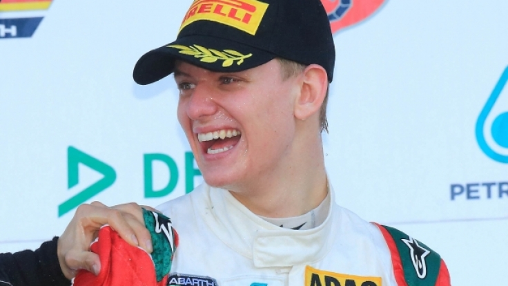 Mick Schumacher im April in Oschersleben.