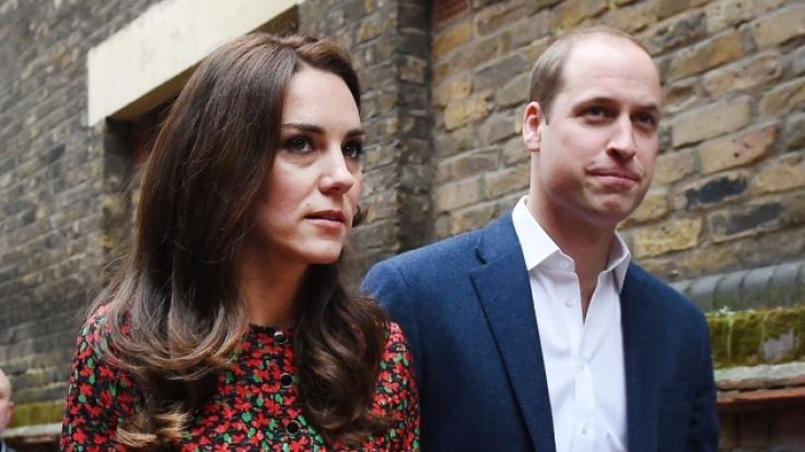 Prinz William und Herzogin Kate machten getrennt voneinander Urlaub. (Foto)