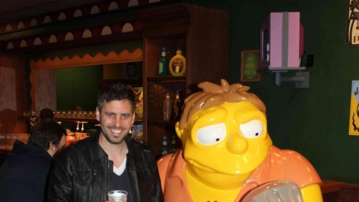 Im Springfield der Simpsons traf ich viele alte Bekannte.