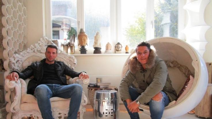 Marco von Reeken (l.) und Ghanem Ghezal duellieren sich bei