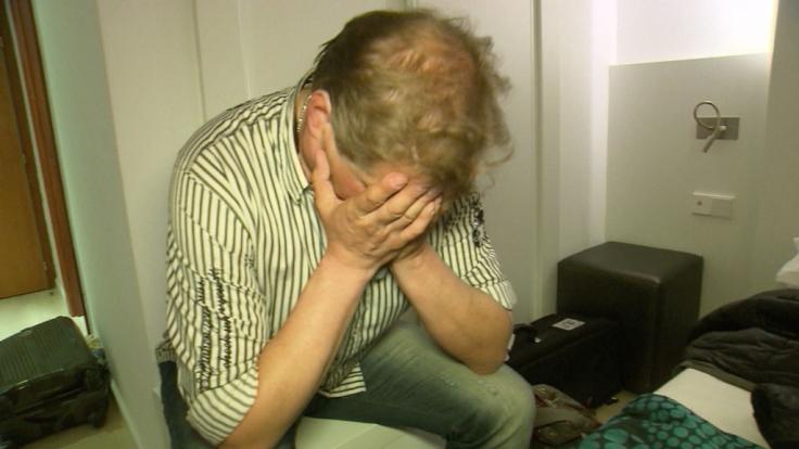 Jens Büchner hat einen schrecklichen Fehler begangen.
