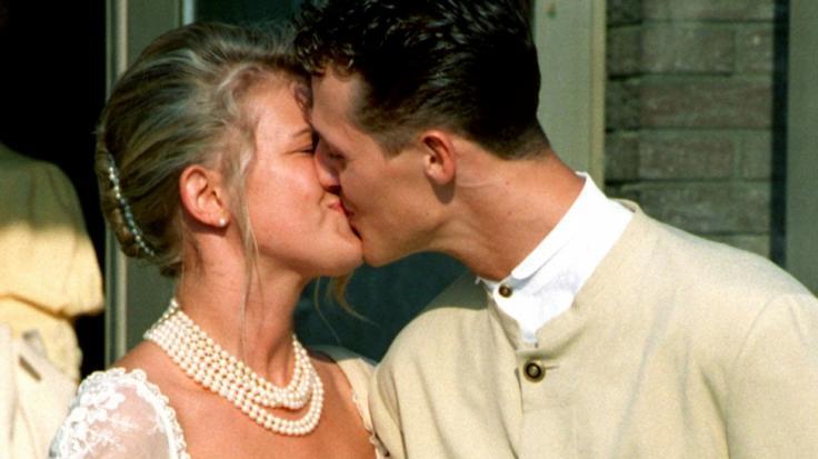 Michael Schumacher und Corinna Betsch sind seit dem 1. August 1995 verheiratet.