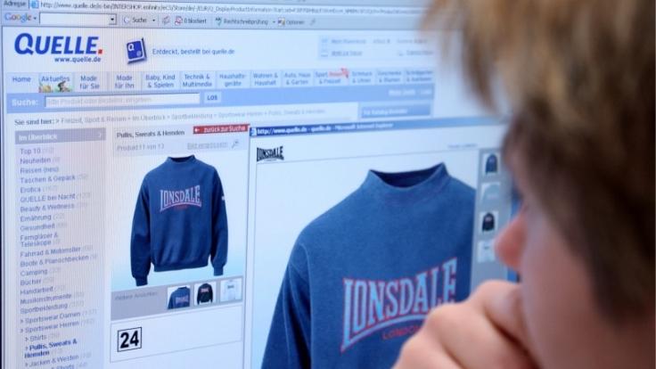2006 nahm das Versandhaus Quelle Lonsdale kurzfristig aus dem Sortiment. (Foto)