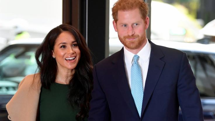 Ein neuer Film über Prinz Harry und Meghan Markle fiel bei Royals-Fans schon vor der Premiere eiskalt durch. (Foto)
