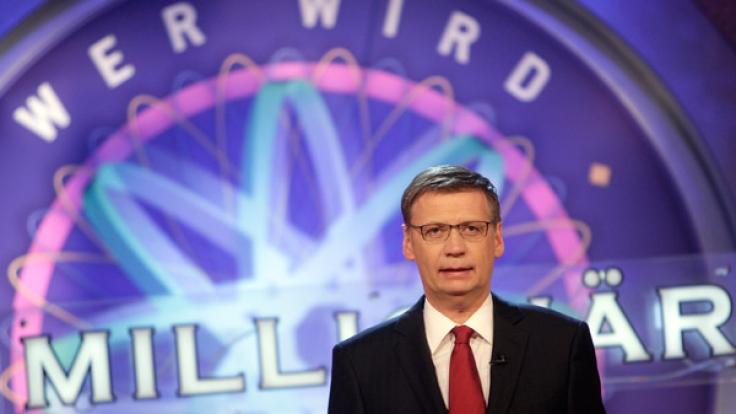 """Günther Jauch hält """"Wer wird Millionär"""" seit 17 Jahren am Laufen. (Foto)"""