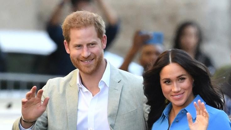 Prinz Harry und Meghan Markle (Foto)